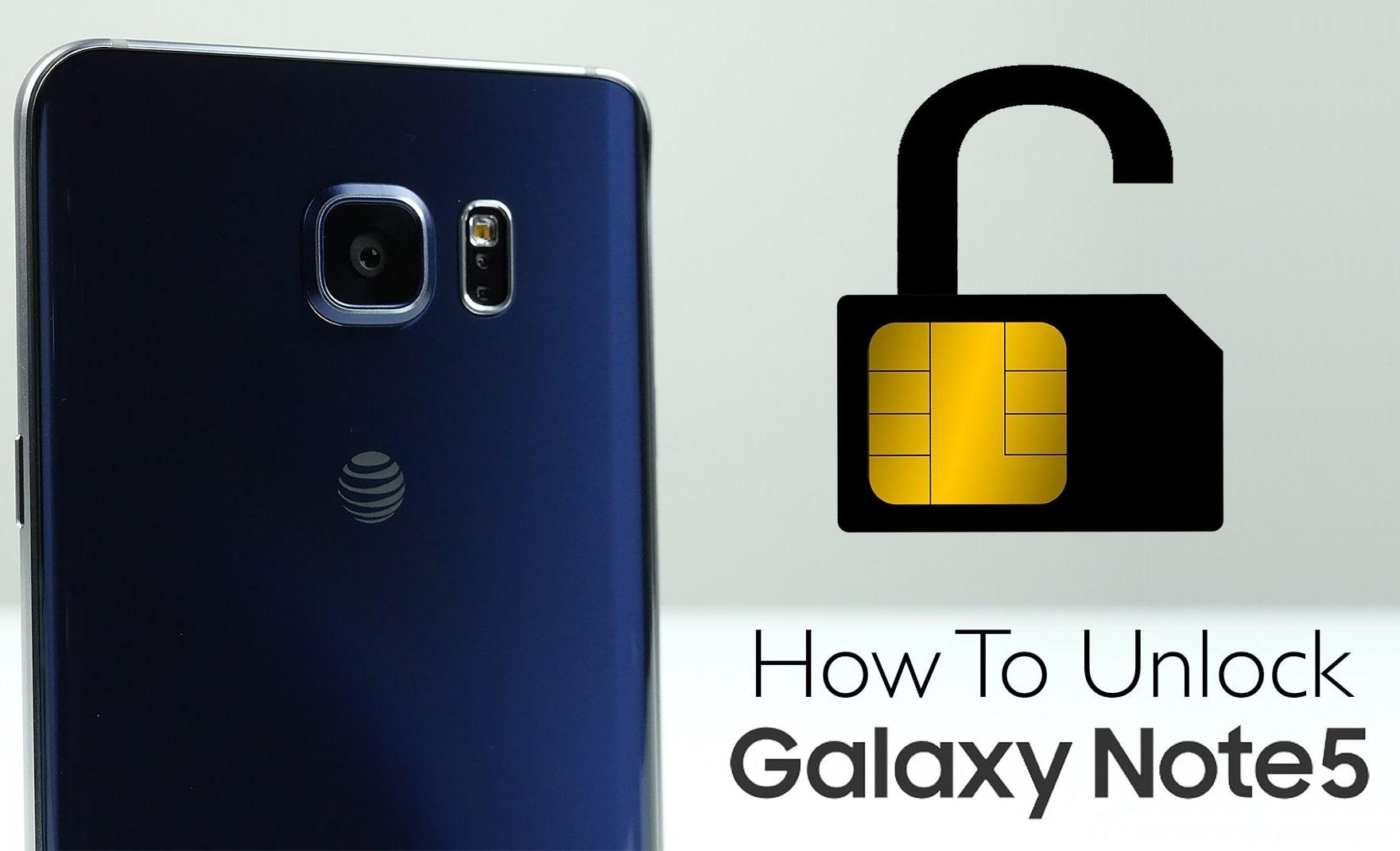 Unlock Note 5