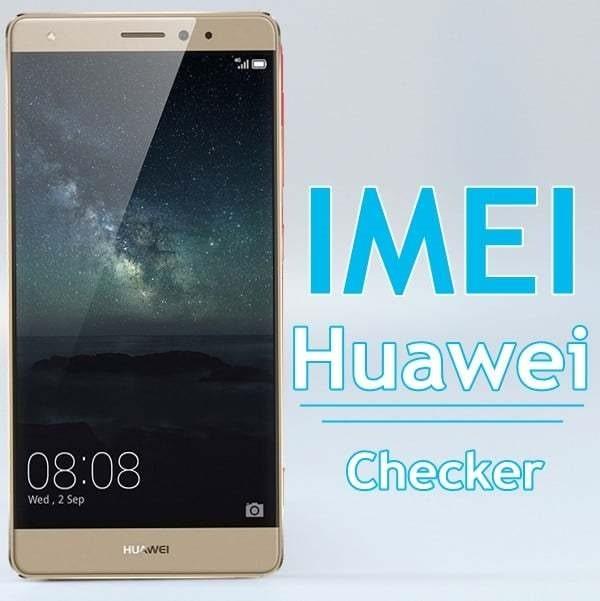 Huawei IMEI Check
