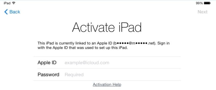 iPad Activation Lock Removal