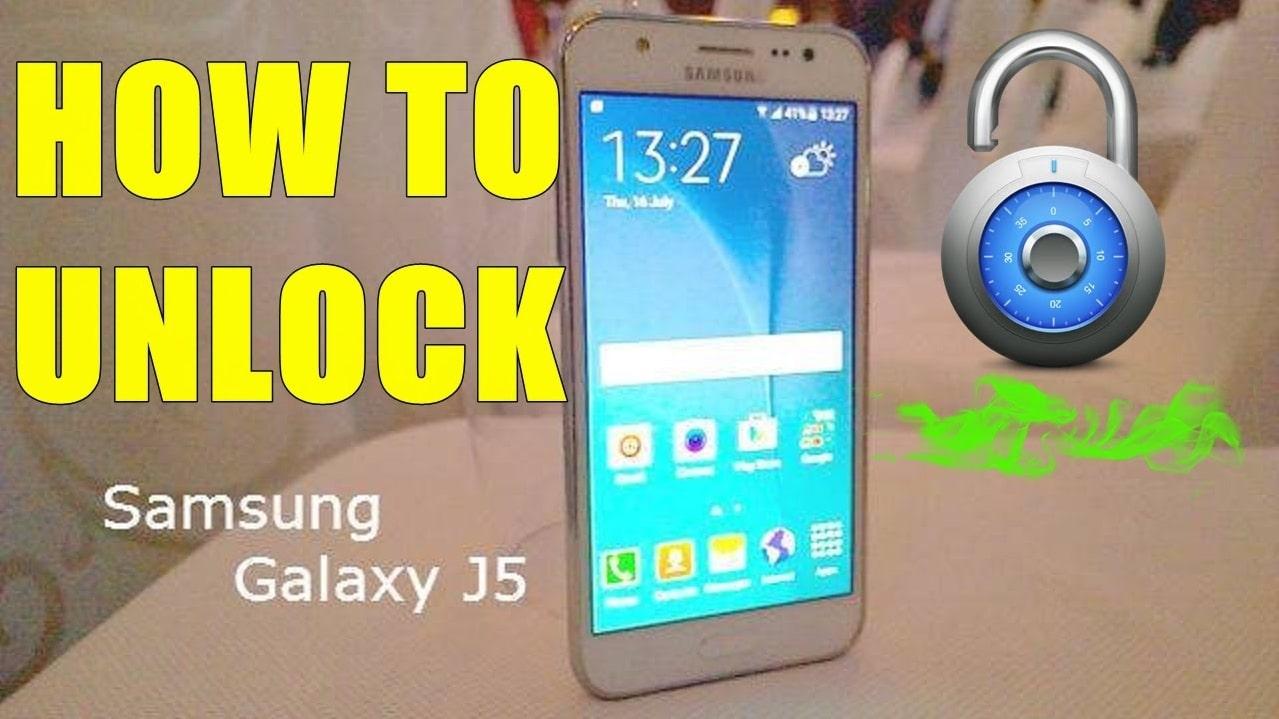 Unlock Samsung Galaxy J5