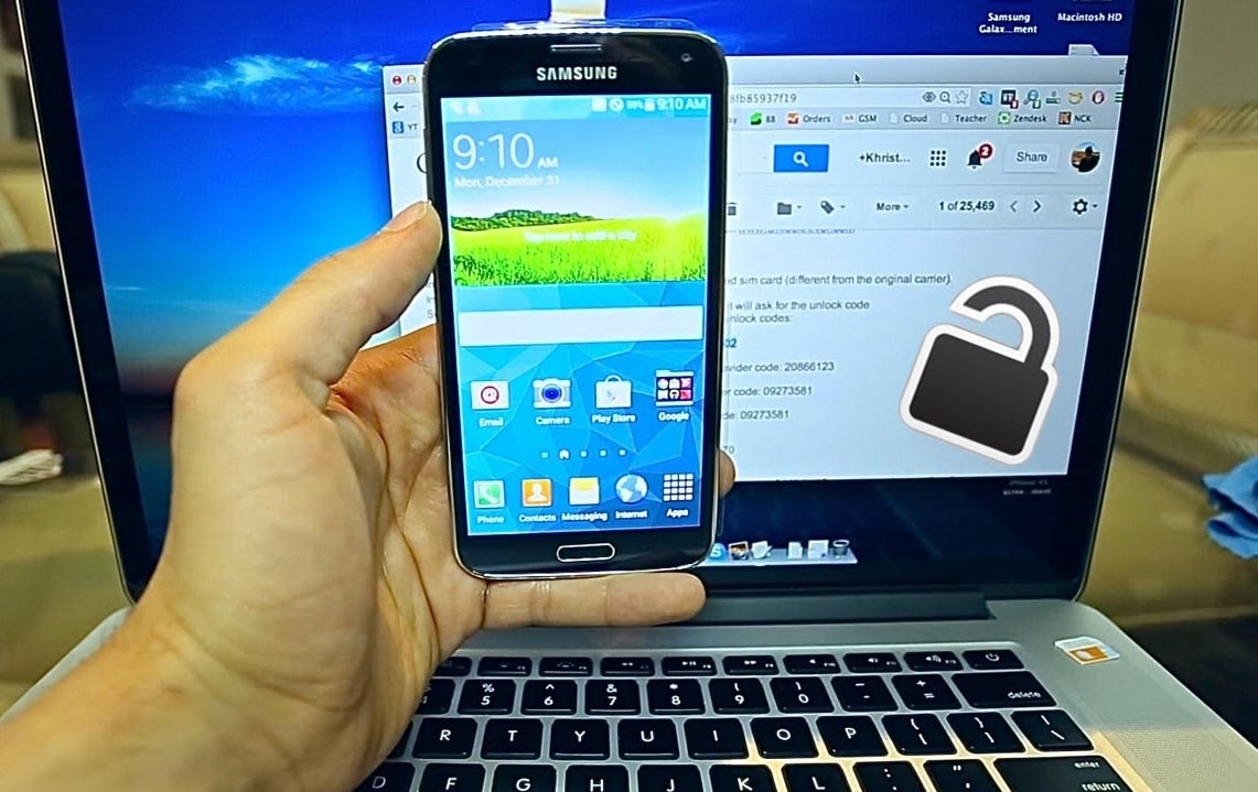 Unlock Samsung Galaxy S5