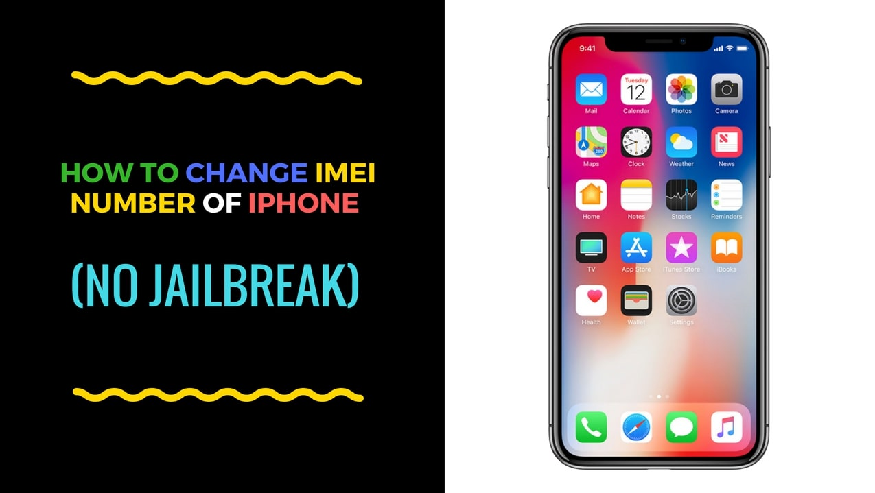 iPhone X IMEI Changer